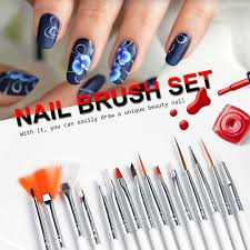 aliexpress com buy 15pcs nail art brush dotting painting nails