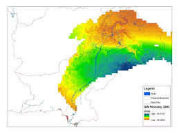 Pakistan On The Map Data Used To Track Groundwater In Pakistan