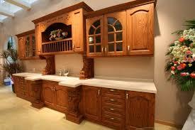 Kitchen Cabinet Wood Types Kitchen Wooden Kitchen Cabinets With Granite Countertops Design