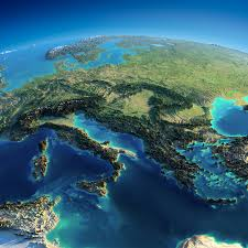 Show Map Of Europe by Fascinating Relief Maps Show The World U0027s Mountain Ranges