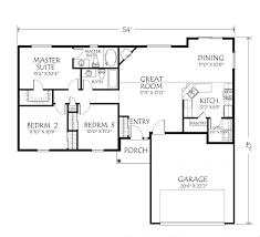 low budget modern 3 bedroom house design floor plan small plans