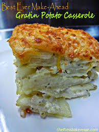 prepare ahead thanksgiving dinner chef tess bakeresse best ever make ahead potato gratin casserole