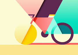 Design Inspiration graphic and colorful illustrations by ray oranges design