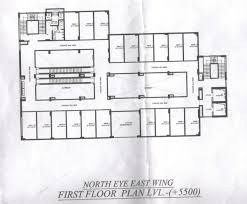 East Wing Floor Plan by Supertech North Eye Retail Noida U2013 9266789000 Commercial Project