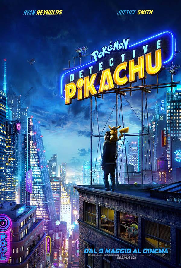 Locandina Pokémon: Detective Pikachu