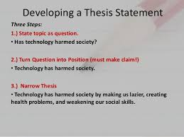 parts of a good thesis FAMU Online