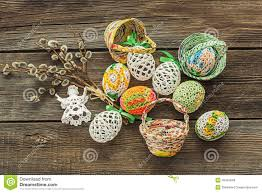 Home Made Decoration by Homemade Easter Decoration Stock Photo Image 49455048