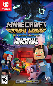 minecraft story mode the complete adventure switch boxart