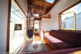 Tiny House Interior Images by Luxurious Tiny Home In New Zealand Is Off Grid And 100 Self