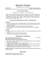 retail professional resume resume and cover letters cv examples