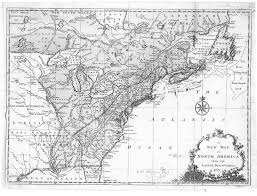 Map Of The New England Colonies by Digital History