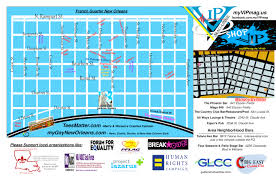 Map New Orleans French Quarter by Southern Decadence U2013 Vip Magazine New Orleans