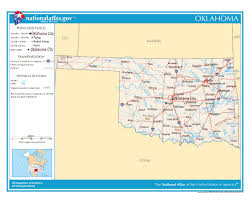 Oklahoma City Map Maps Of Oklahoma State Collection Of Detailed Maps Of Oklahoma