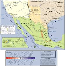 Map Of Juarez Mexico by Pacific Coast Campaign Mexican U2013american War Wikipedia