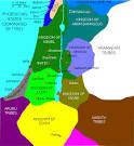 Peta Israel & #3 9;dikepung& #3 ...