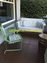 how to refinish your own metal glider and vintage metal patio