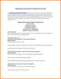 Resume Samples For Experienced Mechanical Engineers by Resume Format For Experienced Mechanical Engineer Samples Of Resumes