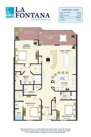 Condominium Floor Plans Floor Plans For New Condos In St Augustine Fl La Fontana