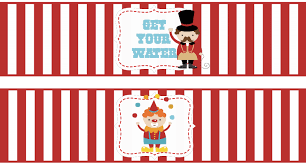 we heart parties free printables big top circus party free printables