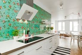 Wallpaper In Kitchen Ideas 17 Inspire Wallpaper In The Kitchen Home Design And Interior