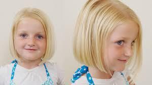 how to cut little girls hair basic bob haircut short
