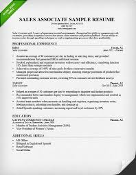 Salesperson  amp  Marketing Cover Letters   Resume Genius sales associate resume sample