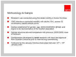 Methodology section in research paper