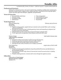 Imagerackus Wonderful Job Resume Outline Secretary Resume Example