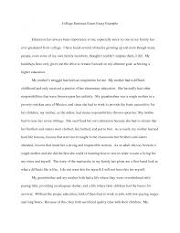college essay examples   Template