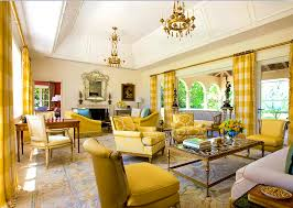 Brown And Yellow Living Room by Living Room Awesome Yellow Living Room Decorating With Red
