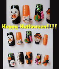 happy halloween ghost 3d nail by jadelushdesigns on deviantart