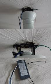 Ceiling Electrical Box by Old Wiring In Ceiling U0027s Electrical Box How To Safely Install A