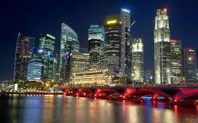Beautiful Lighting Most Beautiful Lighting Shine Of Cityscapes In Lake Hd