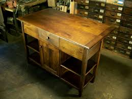 Reclaimed Kitchen Islands Monarch Oak Kitchen Island With Granite Top 5006 945 The Home