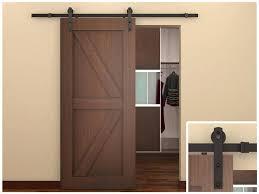 vintage office door with frosted glass building a barn door for bathroom 15 dreamy sliding barn door
