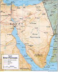 Exodus Route Map by Is Jebel Musa The Correct Mt Sinai