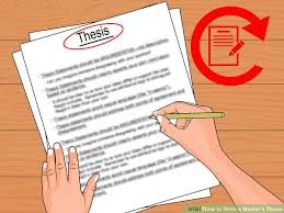 How to Write a Master s Thesis with Pictures wikiHow Image titled Write a Master s Thesis Step