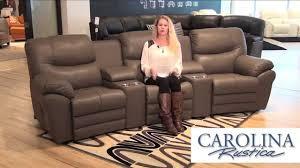 Carolina Leather Sofa by Palliser Furniture Devo Sofa Youtube