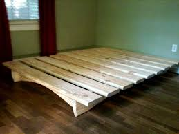 Build Diy Platform Bed by Best 25 Twin Platform Bed Frame Ideas On Pinterest Twin Bed