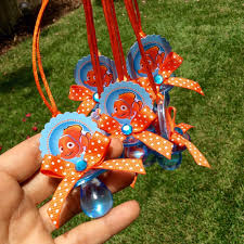 Finding Nemo Centerpieces by 12 Finding Nemo Pacifiers Necklace Finding By Marshmallowfavors