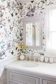 the 25 best small bathroom wallpaper ideas on pinterest half