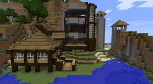 house mountain house builders modern underground minecraft cozy