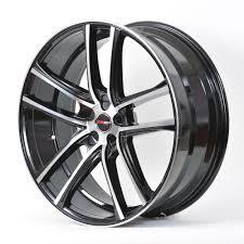 nissan altima coupe black 4 gwg wheels 18 inch black machined zero rims fits 5x114 3 nissan