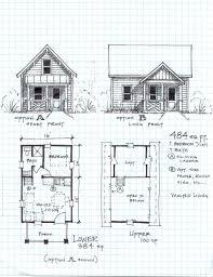 2 bedroom 1 bath cabin floor plans