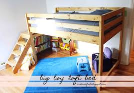 Plans For Building Bunk Beds by Ana White Big Boy Toddler Loft Bed Diy Projects