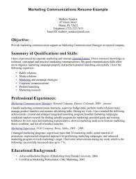 Sample Of Resume Skills And Abilities by Communication Skills Examples For Resume Doc Sample Profile For