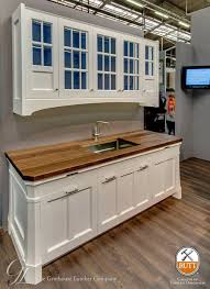 wood countertops with white cabinetry blog