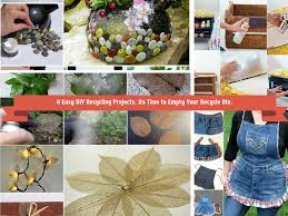 Recycle Home Decor Ideas 8 Easy Diy Recycling Crafts Its Time To Empty Recyle Bin