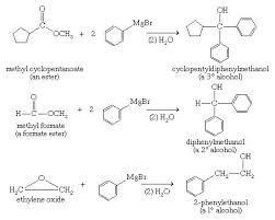 alcohol   Displacement of halides   chemical compound   Britannica com Alcohol  Chemical Compounds  Grignard reagents are valuable for making secondary and tertiary alcohols with