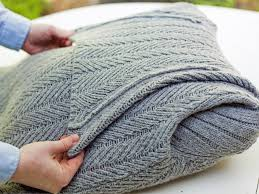 Knitted Cushions With Buttons Turn An Old Sweater Into A Chic Preppy Pillow Hgtv